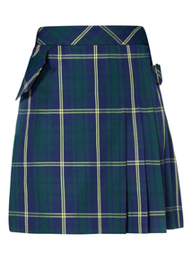 Green Checked Kilt