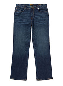 Mid Denim Wash Bootcut Jeans