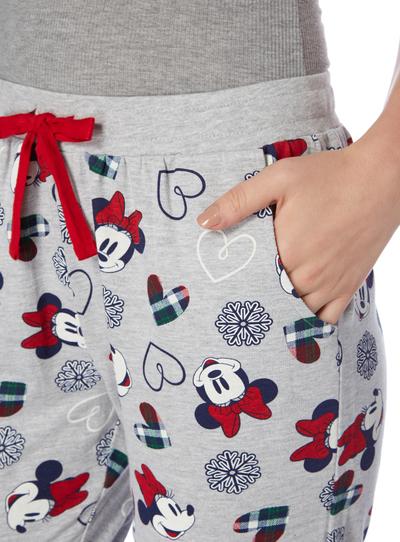 Grey Disney Minnie Mouse Pyjama Bottoms