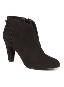 Black High Heel Shoe Boots
