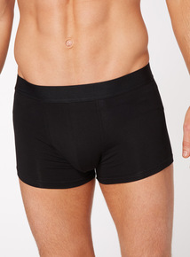 3 Pack Black and Grey Hipster Briefs