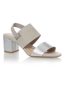 Sole Comfort Block Heel Sandals