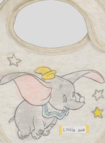 Oatmeal Disney Dumbo Bib (one size)