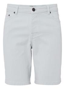 Blue Sunbleached Shorts