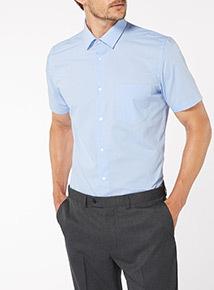 Blue Tailored Shirt 2 Pack