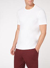 White T-shirt Vest 2 Pack