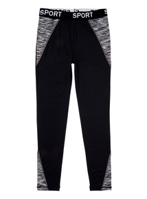 Black Active Leggings (3-14 Years)