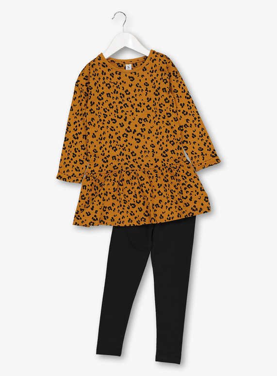 3146dd01 SKU: AW19 AUG ONLINE ONLY JERSEY PRINT SET:Brown