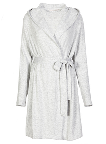 Brushed Soft Knit Dressing Gown