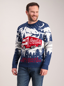 Christmas Coca-Cola Jumper