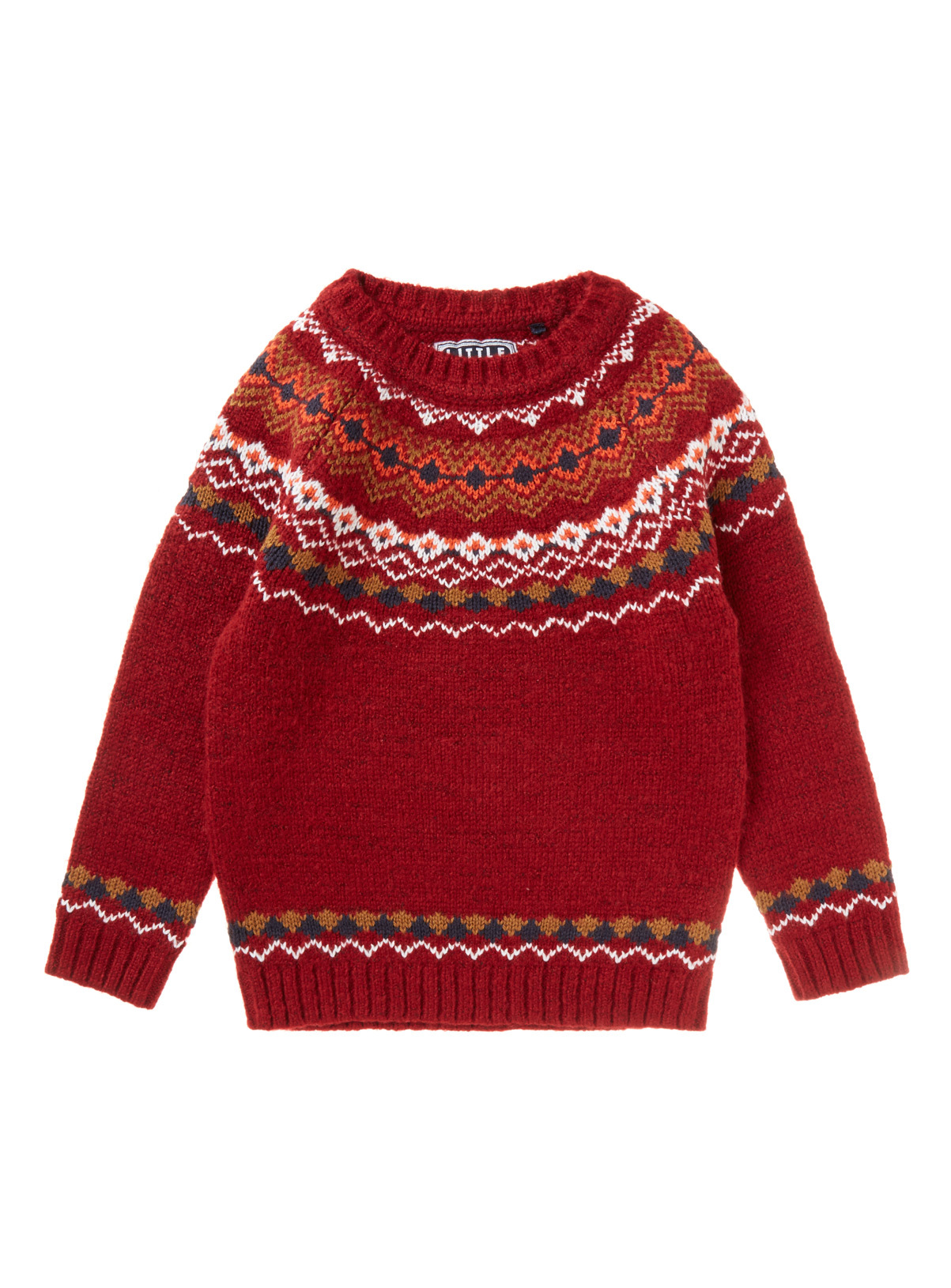 All Boy's Clothing Red Fairisle Jumper (9 months-6 years) | Tu ...