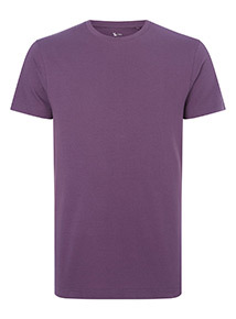 Purple Crew Neck T-Shirt