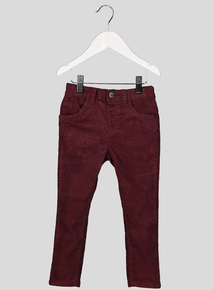 Burgundy Corduroy Trousers (9 months-6 years)