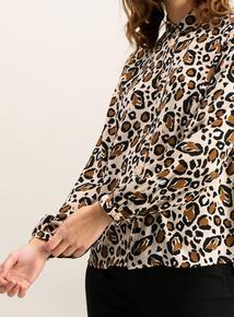 Multicoloured Leopard Print Shirt