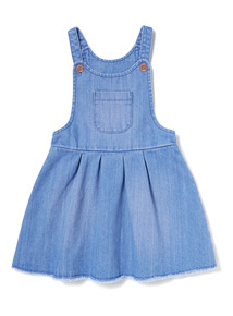 Denim Pinny Dress (9 months-6years)