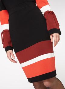 Co-Ord Colourblock Skirt