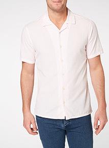 Pink Plain Cotton Shirt