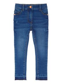Denim High Waisted Jeans (3-14 years)