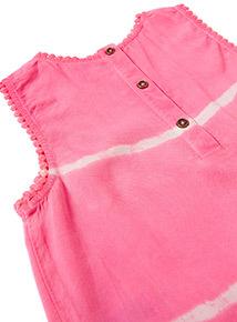 Pink Tie Dye Twosie (3-14 years)