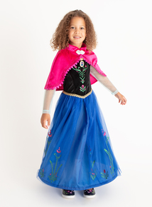 Disney Frozen Anna Fancy Dress Outfit (1-10 years)