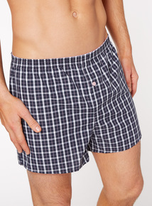 3 Pack Multicoloured Woven Boxers