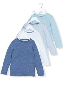 Multicoloured T-Shirts 4 Pack (9 Months - 6 years)