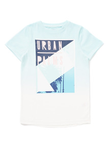 Multicoloured Urban Palms T-Shirt (3-14 years)