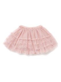 Pink Net Skirt (3-14 years)