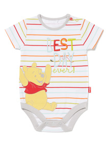 Multicoloured Disney Winnie The Pooh Bodysuit (0-12 months)