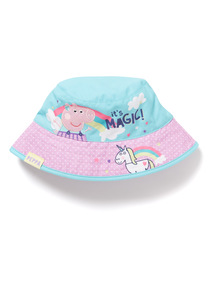 Pink Peppa Pig Unicorn Bucket Hat (1-5 years)