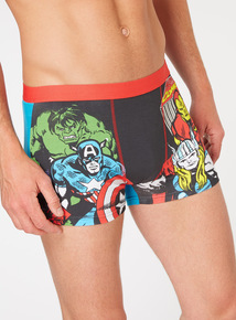 Online Exclusive 2 Pack Marvel Comic Print Trunks