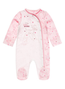 Pink Disney Bambi Sleepsuit (0 - 12 months)