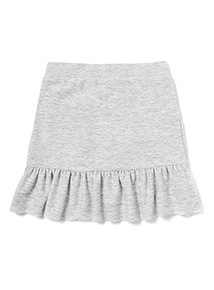 Grey Frilled Skirt (3-14 years)