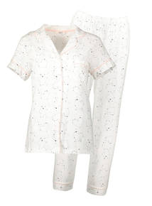 White Star Print Pyjamas