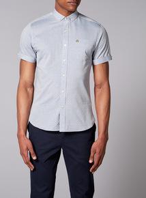 Admiral Light Blue Jacquard Shirt