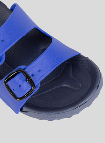Spot On Blue Buckle Sliders (Infant 11-3)