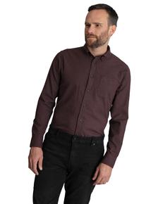 Burgundy Regular Fit Shirt