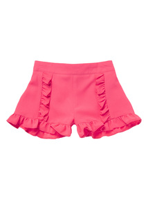 Pink Frill Short (3-12 years)