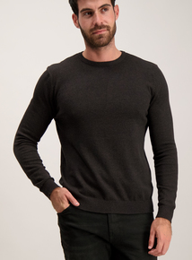 Brown Knitted Jumper
