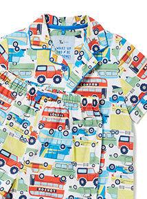 Multicoloured Transport Print Pyjamas (1-8 years)