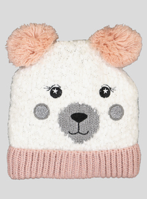 Multicoloured Bear Beanie Hat (1-13 Years)