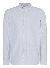 Navy Bengal Oxford Shirt