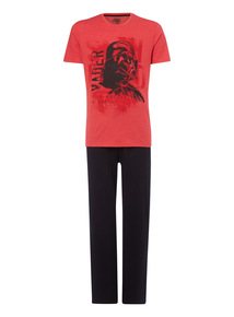 Red Disney Useless To Resist Vader Pyjama Set