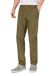 Khaki Tapered Chinos