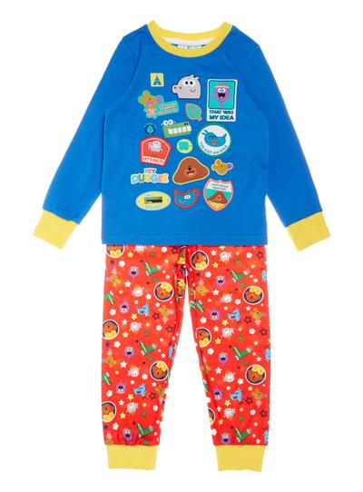 Multicoloured Hey Duggee Fleece Pyjama Set (1-6 years)