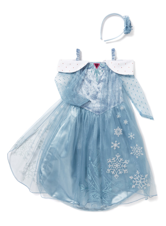 SKU AW17 DISNEY FROZEN ELSA FROM OLAFS ADVENTUREBlue  sc 1 st  Tu clothing & Fancy Dress Blue Disney Elsa Frozen Costume (2-10 years) | Tu clothing
