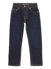 Navy Dark Wash Denim Jeans (3-14 years)