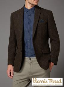 Harris Tweed Slim Fit Jacket