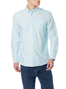 Light Blue Bengal Stripe Oxford Shirt