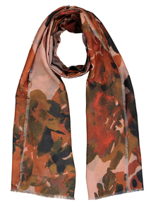 Floral Woven Print Scarf